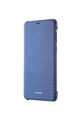 Huawei P Smart Flip Cover Case Mavi