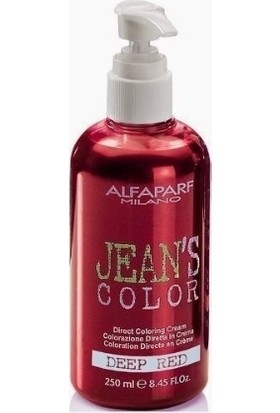 Jean's Color Contrast Saç Boyası Deep Red 250 ml