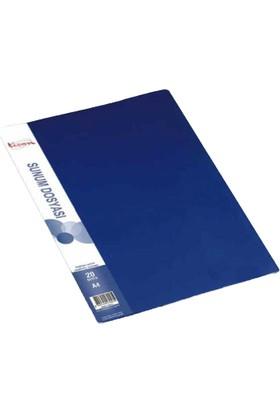 Ticon Sunum Dosyası Tanıtım Kataloğu 40'lı Mavi