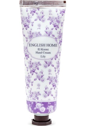 English Home Lily El Kremi 30 Ml Beyaz
