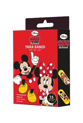 Disnep Mickey Mouse Yara Bandı 15'li