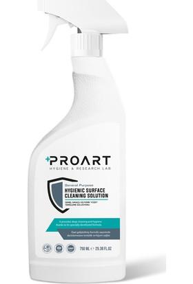 Proart Hijyenik Yüzey Temizleme Solüsyonu 750 ml Sprey