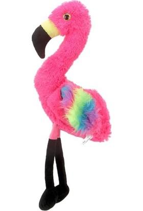 Selay Peluş Oyuncak Flamingo 60 cm Pembe