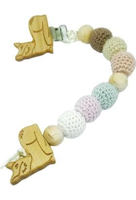 Gift For Baby Shop Emzik Zinciri Ceylan Figürlü Renkli