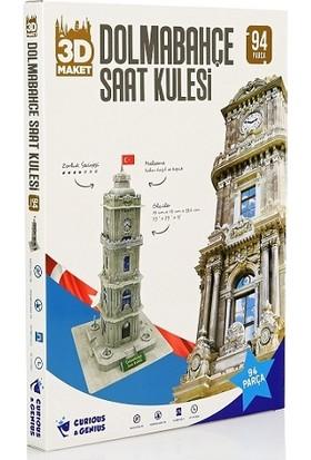 Curious&Genius Dolmabahçe Saat Kulesi 94 Parça 3D Puzzle