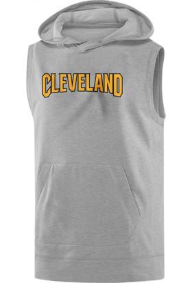 NSJ Sportive Cleveland Cavaliers Sleeveless Kapüşonlu Sweatshirt