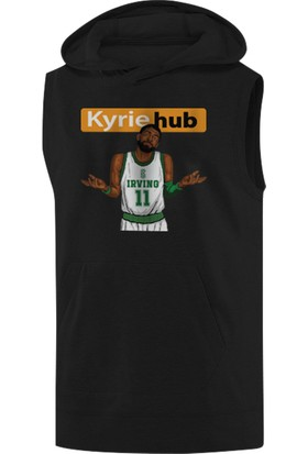 NSJ Sportive Kyrie Hub Sleeveless Kapüşonlu Sweatshirt