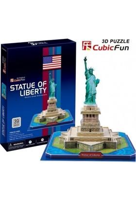 Cubic Fun New York Özgürlük Heykeli Maketi
