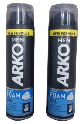 Arko Men Foam Cool 200 ml 2 Adet
