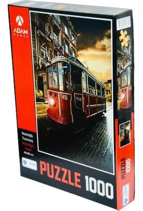 Adam Games Nostaljik Tramvay 1000 Parça Puzzle