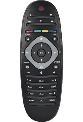 Electroon Philips 42PFL7406 Smart LED Tv Uyumlu Kumanda RM-D1070