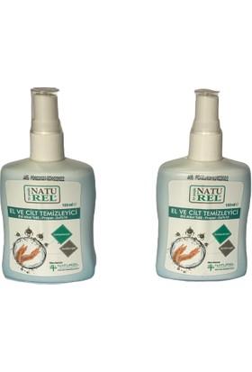 Naturel El ve Cilt Temizleyici Dezenfektanı 100 ml Sprey 2'li