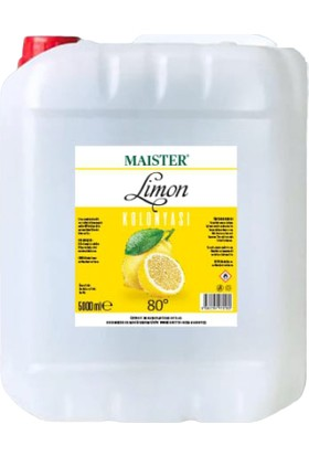 Maister Limon Kolonyası 5 lt