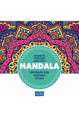 Büyükler İçin Mandala-Turkuaz Kitap