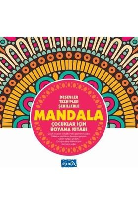 Çocuklar İçin Mandala-Pembe Kitap
