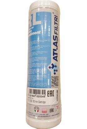 """E-Water Atlas 10"""" Yıkanabilir Su Arıtma Filtresi Yıkanabilir Filtre - 50 Mikron"""