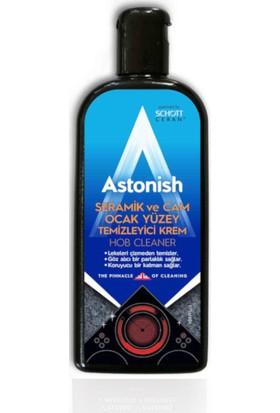 Astonish Vegan Seramik Cam Ocak Temizleyici 235 Ml + Bez + Kazıyıcı