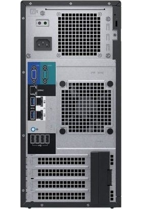 Dell PET140M2A7 T140 E-2124 8gb 2X1TB Sata Tower Server Ws 2019 Essentıals