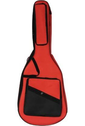 Pandura Klasik Gitar Kılıfı Gigbag - Kırmızı