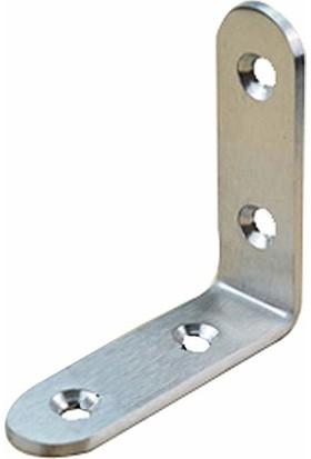 Yücecengiz Metal Köşebent Paslanmaz 90 Derece 15 x 40 x 40 mm