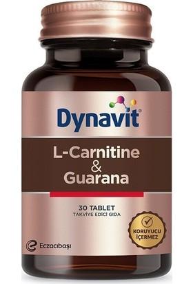 eczacıbaşı Dynavit L-Carnitine + Guarana 30 Tablet