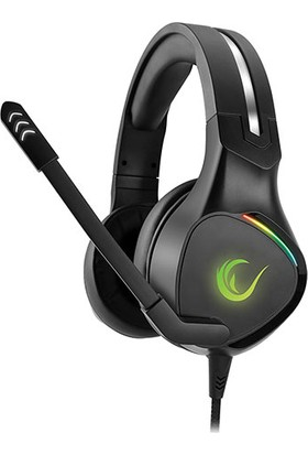 Rampage RM-K10 Amazing Siyah USB 7.1 RGB Mikrofonlu Oyuncu Kulaküstü Kulaklık