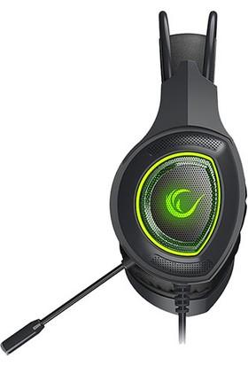 Rampage RM-K23 Mission Yeşil Mikrofonlu Oyuncu Kulaküstü Kulaklık