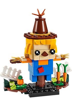 LEGO Brickheadz 40352 Thanksgiving Scarecrow