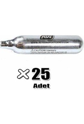 Asg 12 gr Co2 Tüp (25 Adet)