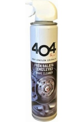 404 Fren Balata Temizleyici Sprey 500 ml 4'lü Set