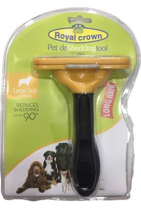 Royal Crown Köpek Tarağı 15 x 12 cm