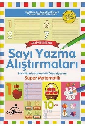 Süper Matematik Etkinliklerle Matematik Öğreniyorum - 8 Kitap