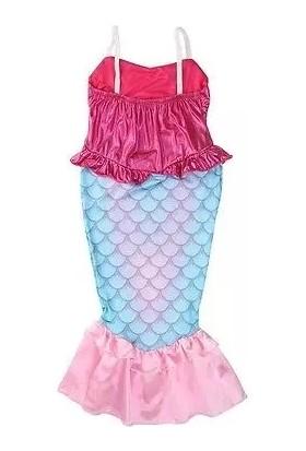 NESİL Deniz Kızı Elbise Mermaid Kostüm