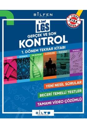 Bilfen Yayınları 8.Sınıf LGS Gerçek ve Son Kontrol 1.Dönem Tekrar Kitabı