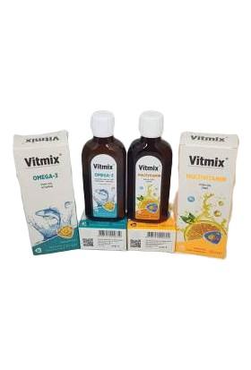 Vitmix Omega3&multivitamin 2 Li Set