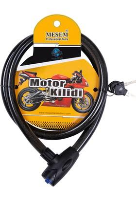 Meşem Motor Kilidi 150 cm Motosiklet Kilidi Motosiklet Kilidi