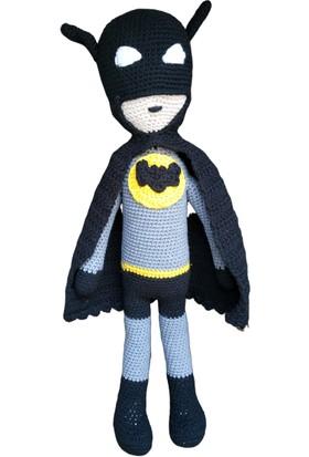 ÖRBİ Batman Amigurumi Oyuncak (44 cm)
