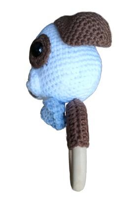ÖRBİ Diş Kaşıyıcı Köpek Amigurumi Oyuncak (15 cm)