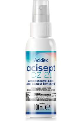 Acidex Acisept %70 Alkol Bazlı El Temizleme Dezenfektanı 100 ml