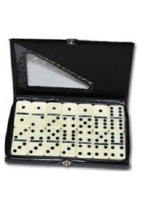 Star Melamin Büyük Domino Seti Çantalı