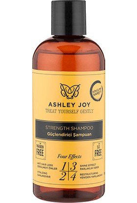 Ashley Joy Güçlendirici Şampuan 400 ml