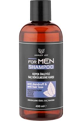Ashley Joy Erkekler İçin Kepek Önleyici & Dökülme Karşıtı Şampuan 400 ml