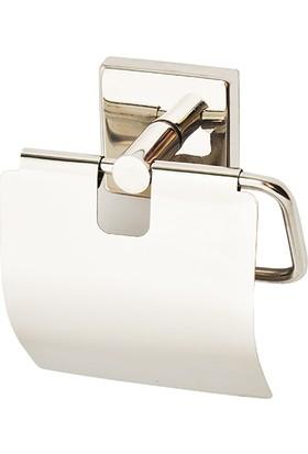 Mabello Tuvalet Kağıtlığı Kapaklı Paslanmaz