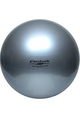 Theraband Abs Sistemli(Patlamaz)Pilates Topu Gümüş 85 cm