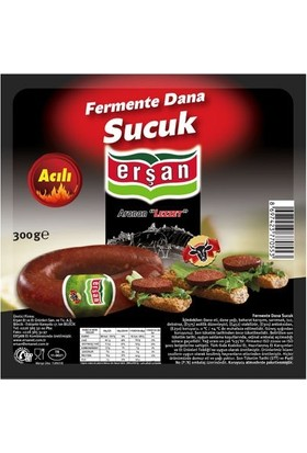 Erşan Et Dana Fermente Acılı Kangal Sucuk 300 gr