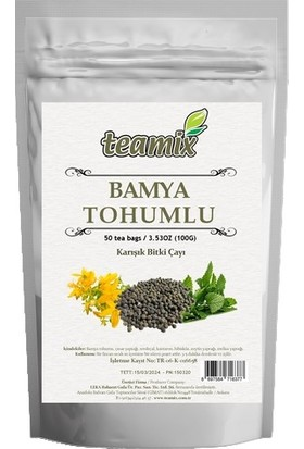 Teamix Bamya Tohumlu Çay