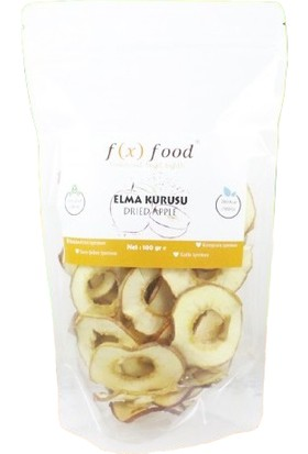 Fx Food Kurutulmuş Elma 100 gr
