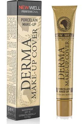 Derma Make-Up Cover Foundation - Gold-Kapatıcı Fondöten