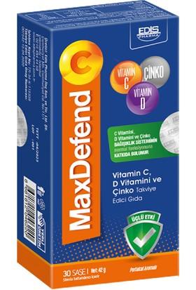 Edis Pharma Maxdefend C 30 Saşe Takviye Edici Gıda