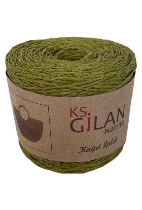 Gilan Kağıt İplik Yeşil 250 Gr
